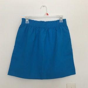 J Crew Blue Skirt